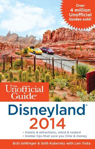 The Unofficial Guide to Disneyland 2014 (bestseller)  This guide book has never let me down!