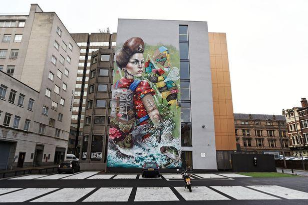 Liverpool office mural celebrates spirit of vibrant city businesses   – Q