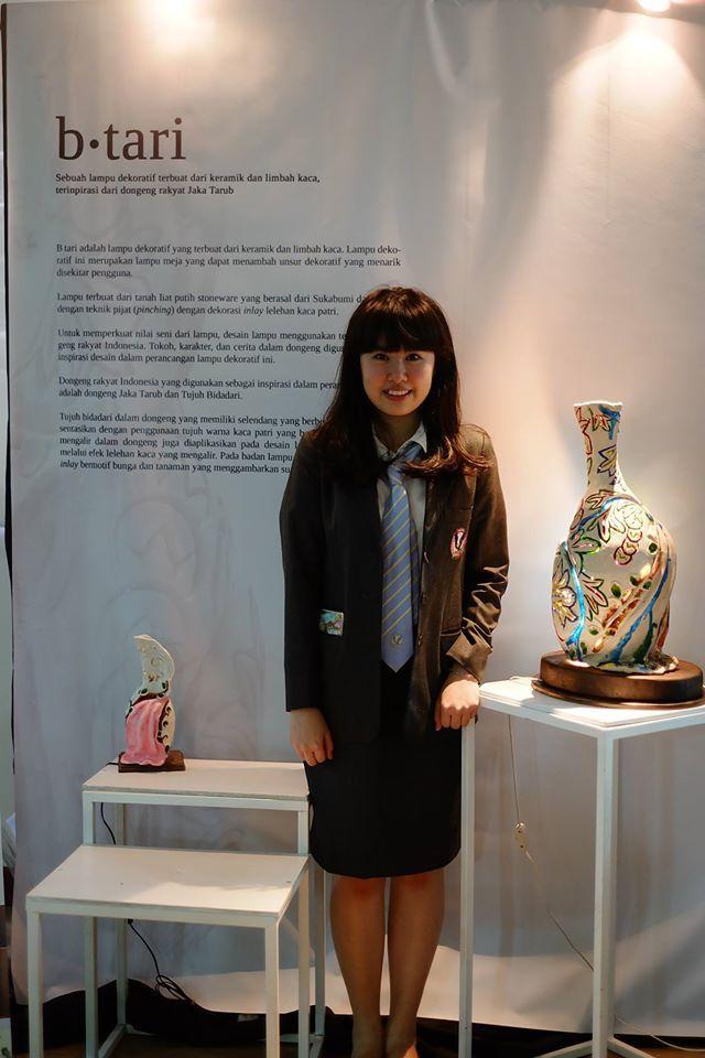 photo by: Baskoro Junianto ceramics and glass lamp by Sylvia Puteri Utama.