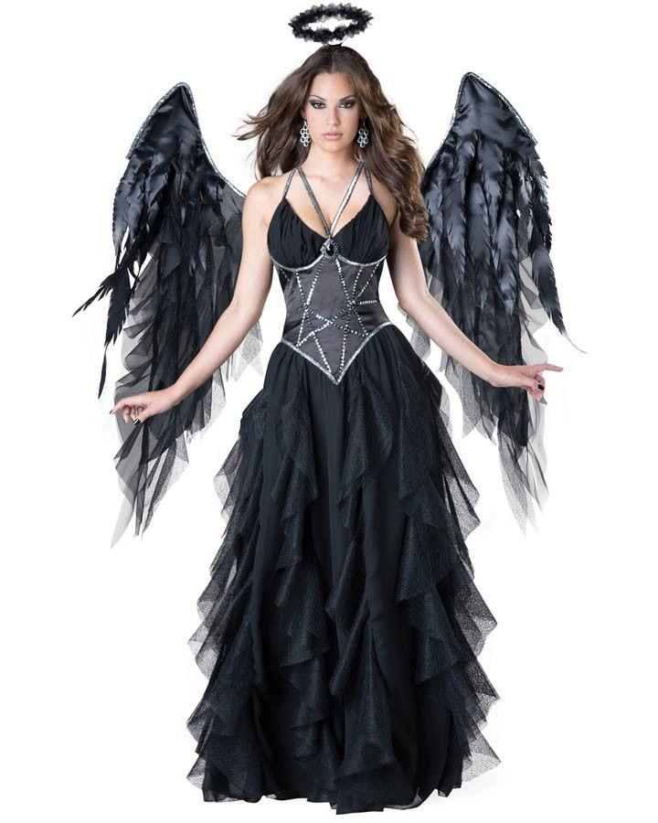 elite dark angel womens costume - Halloween Costumes Angel Wings