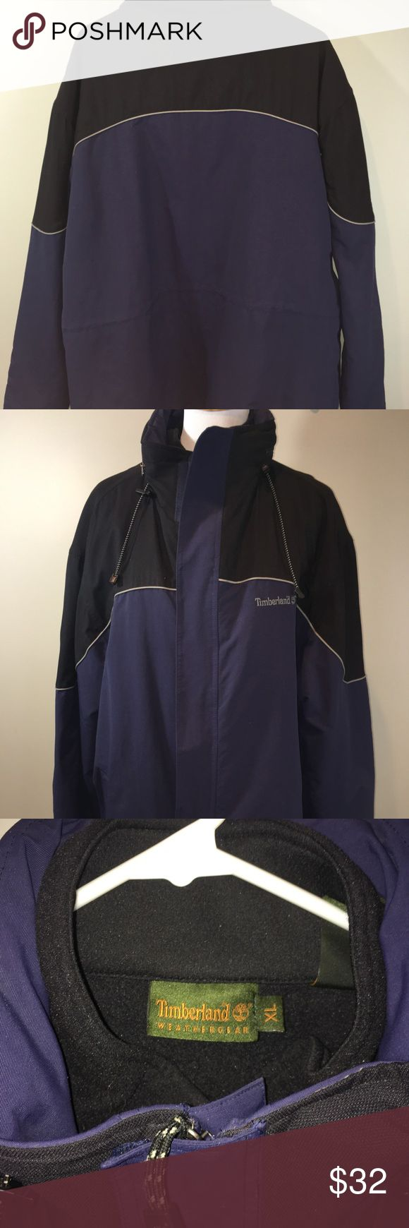 Men's Timberland Jacket  Men's Size XL Men's Timberland Winter Jacket with Removable Fleece     Men's size XL.    Navy and Black color. Timberland Jackets & Coats Performance Jackets
