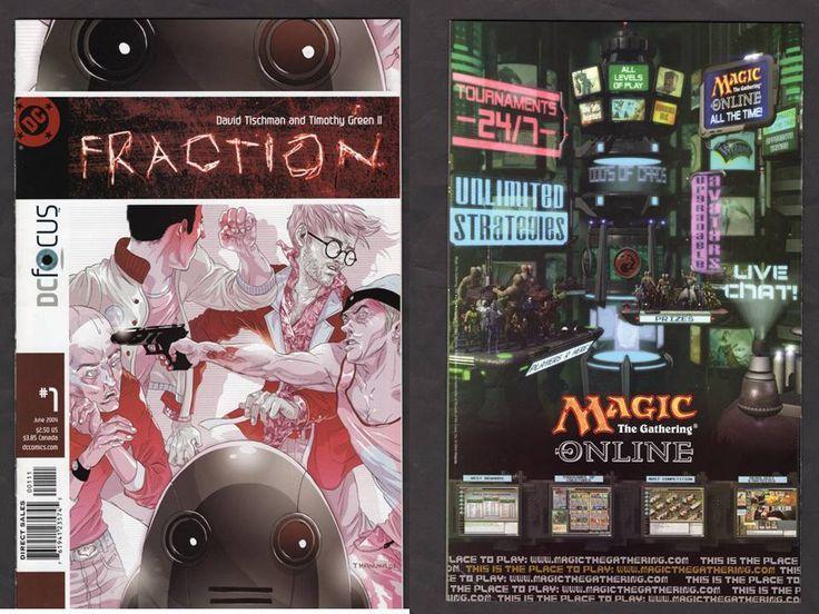 FULL RUN Fraction #1-6 DC Focus 2004 Tischman Cheap LOW PRINT RARE Comic Book  | Collectibles, Comics, Full Runs & Sets | eBay!