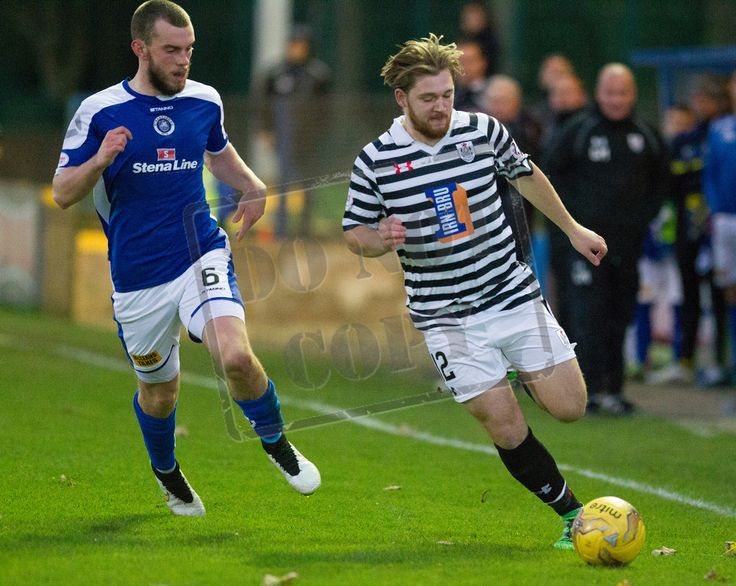Queen's Park's Aiden Malone in action during the Ladbrokes League One game between Stranraer and Queen's Park.
