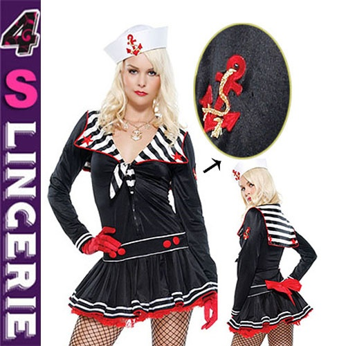 New coming popular style fascinating sexy sailor costume CT1382-Wholesale Lingerie,China Lingerie Manufacturer,Cheap Sexy Lingerie,Sexy Costumes Supplies,lingerie manufacturer,sexy lingerie,lingerie supplier,cheap lingerie china,lingerie wholesale