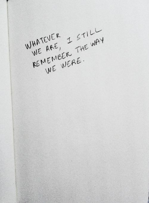 we were.