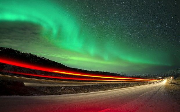 Possible Aurora Borealis sightings all over Britain tonight. You can usually see them when you are at the Northern most point in Scotland but tonight, due a storm on the sun, we could get sightings all over the UK