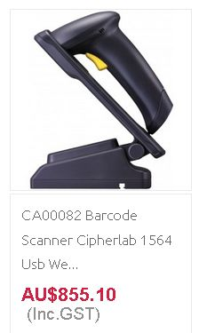 ORDER ONLINE Barcode Scanner at discount rates from Quick POS in Australia