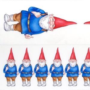 Gnome Panel by Michael Miller- David de kabouter van Rien Poortvliet?