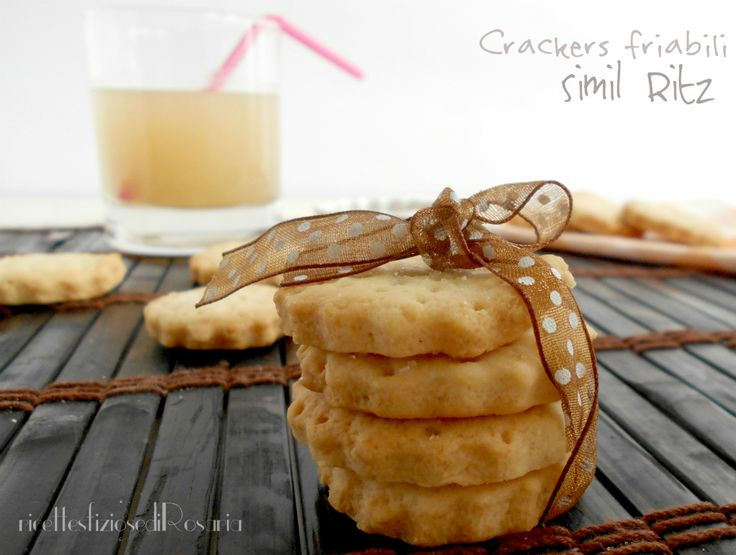 Crackers friabili (simil Ritz)