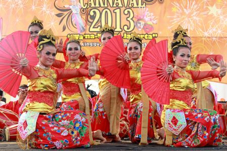 Bajidor Kahot (Jaipong Dance) - West Java Province #Traditional #Dance #Indonesia
