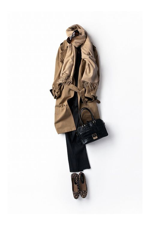 オードリーも¨今¨ならこんな感じでしょうか!? ヒョウ柄 レオパード フラットシューズ パンプス バレエシューズ アニマル コーディネート コーデ outfit leopard flatshoes ballet pumps coordinate style styling