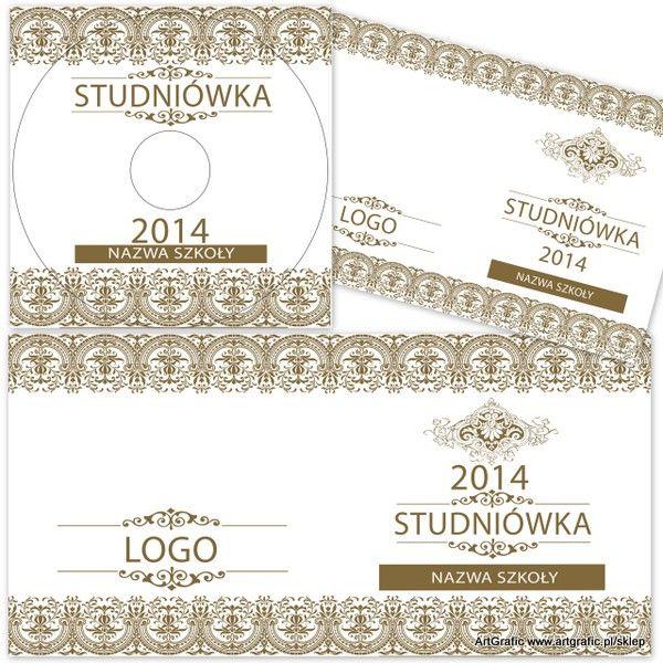 CD / DVD Szablony - Studniówka 04