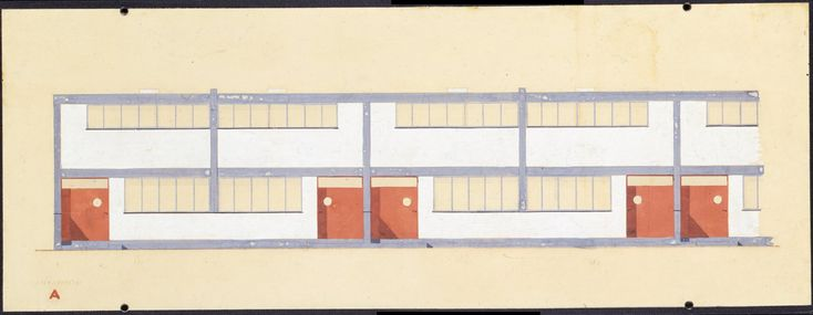 Image result for bauhaus elevation drawing