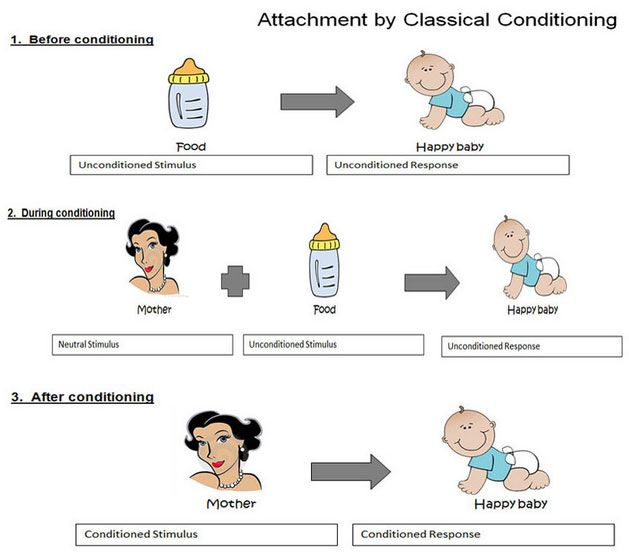 attachment classical conditioning