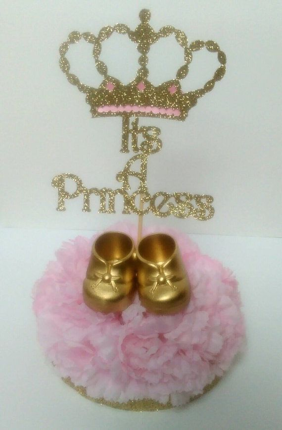 It's a princess centerpieces baby shower by InspirationsByAlex