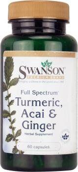 Swanson Full Spectrum Turmeric, Acai & Ginger (60 Capsules) - http://alternative-health.kindle-free-books.com/swanson-full-spectrum-turmeric-acai-ginger-60-capsules/