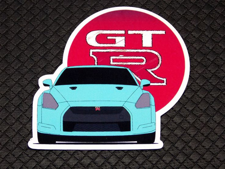 Nissan GTR GT-R Flexible Fridge Refrigerator Magnet Unique Gift by Osarix