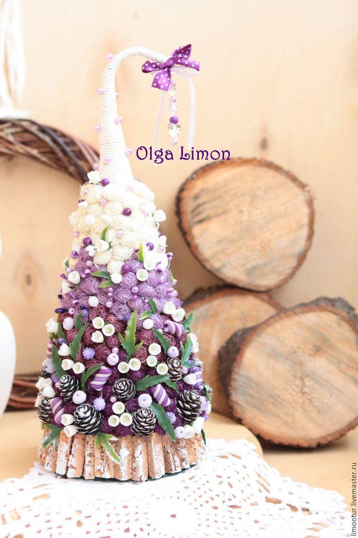 """Купить Елочка """"Колокольчик""""! - елка новогодняя, елочные украшения, елка, елка ручной работы"""