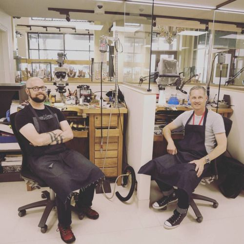 Have you peeked through the glass at our new state of the art workshop? Then you would have seen Darren and Steve crafting your jewellery with big smiles! Our workshop has been revamped and we're loving it. Come and see our new retail gallery and...