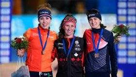 Ivanie Blondin claimed her first victory of the season at the last pre-Olympic speed skating World Cup, winning 3000m gold...