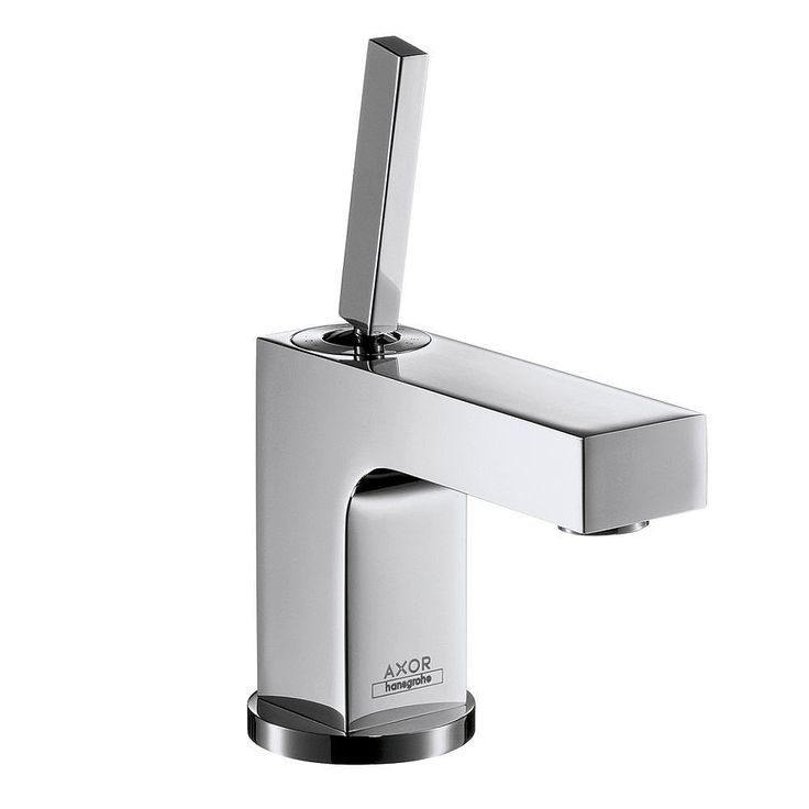 Hansgrohe Axor Citterio Short Spout Small Basin Mixer. For more basin mixers click here: http://www.cphart.co.uk/taps-shower-controls/basin/ #bathroomtaps #basintaps