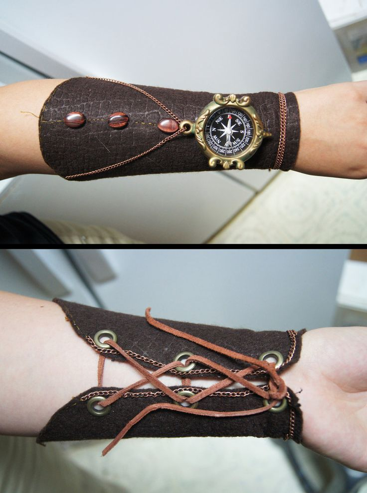 Steampunk Arm Brace by stargate4ever23.deviantart.com on @DeviantArt