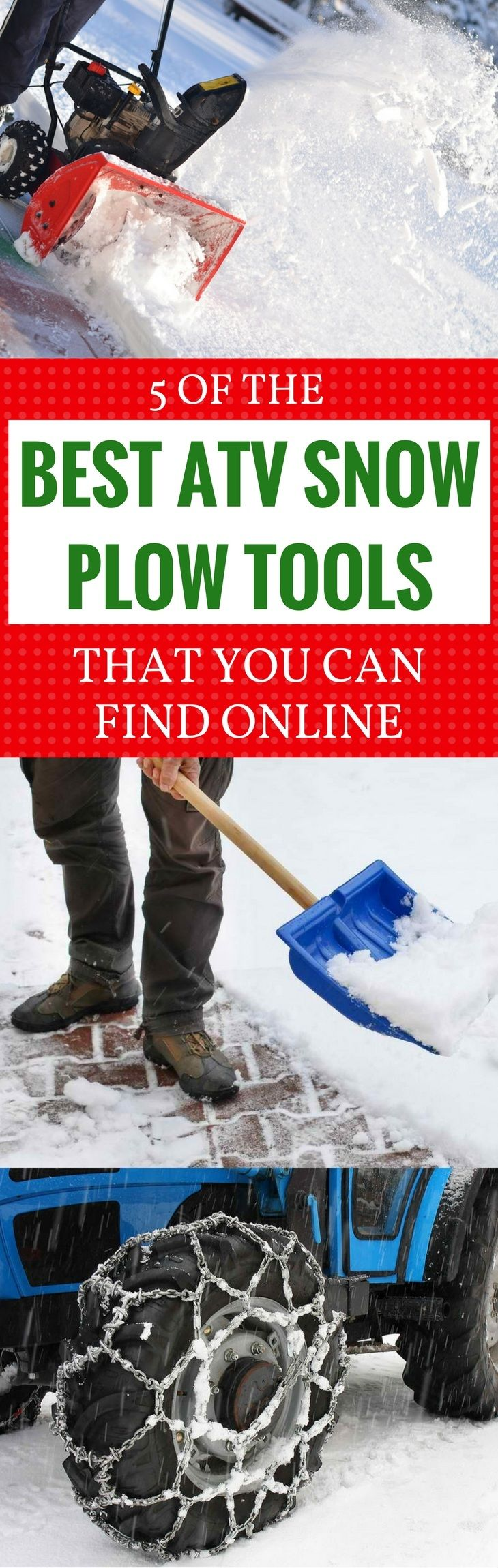 Know where to find the best ATV snow plow tools for tidying up the streets after long and unforgiving Winters. Read this article now to find out! Read more at: https://gardenambition.com/best-atv-snow-plow/
