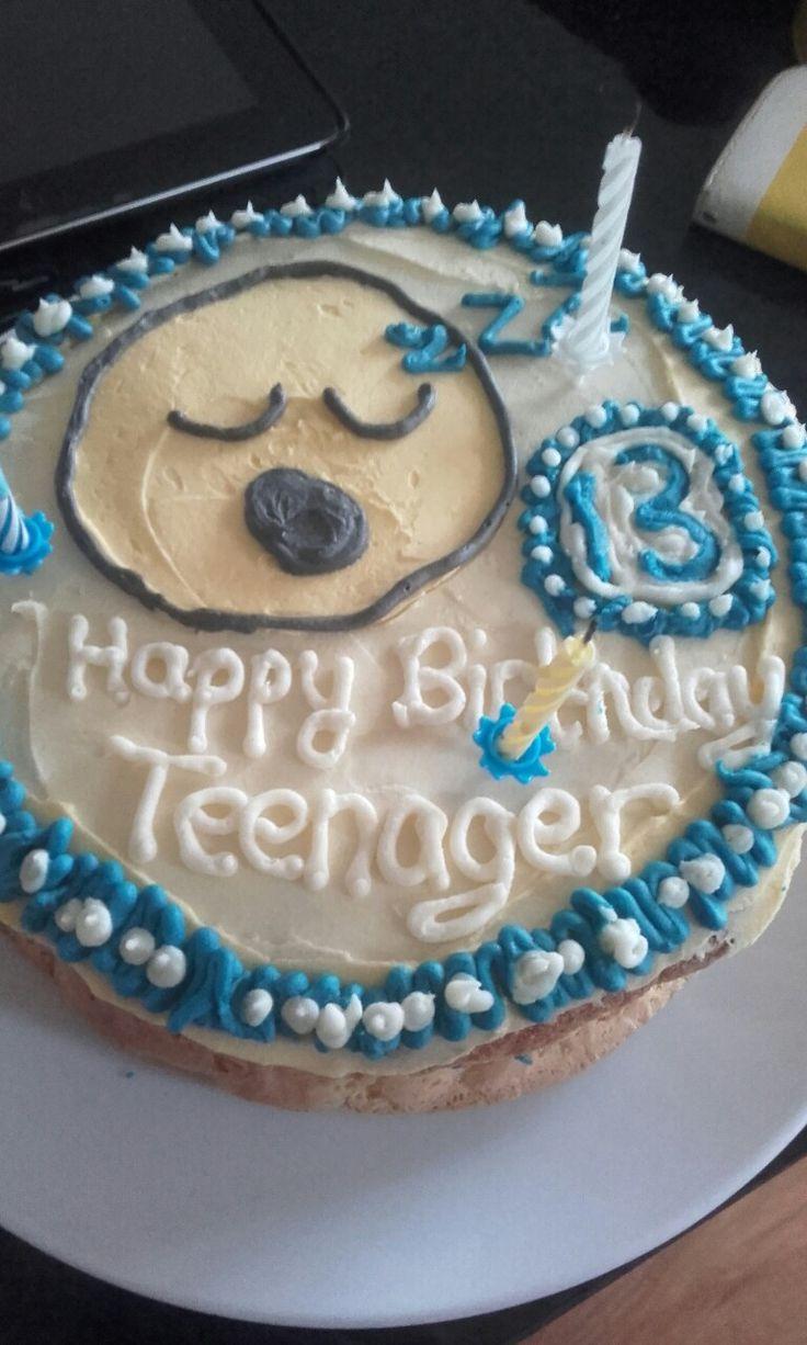 Teenager cake