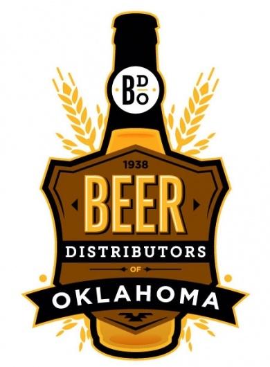 Logo: Graphics Design Brand, Logoscorpor Idbrand, Logo Design, Oklahoma, Graphics Design Logo S Work, Logo Inspiration, Beer Distributor, Beer Brand, Brand Inspiration