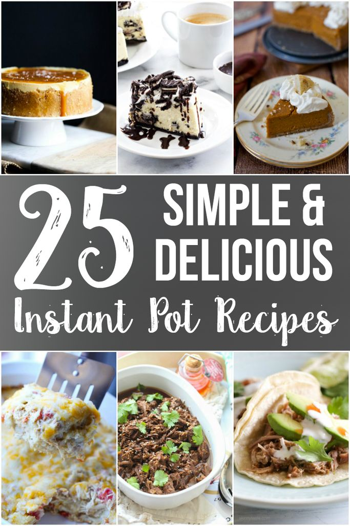 "I adore my Instant Pot and these 25 Simple and  Delicious Instant Pot Recipe Ideas are dishes that I have tried or am dying to try! Since I started cooking with my Instant Pot a few months ago I have gushed pretty much nonstop. The most frequent question I get is, ""What is your favorite... Read More"