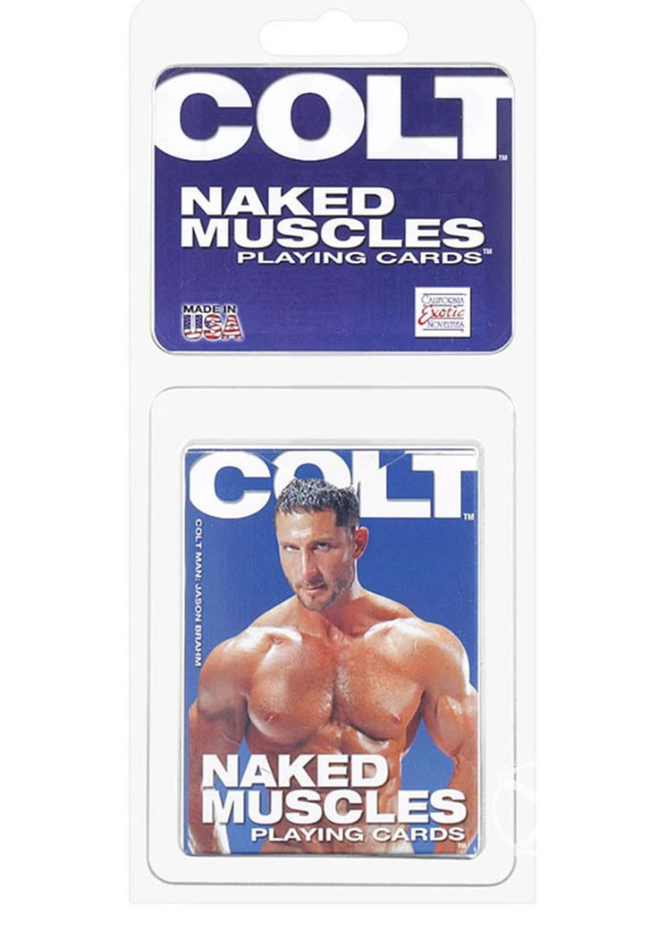 Buy Colt Naked Muscles Playing Cards online cheap. SALE! $11.49