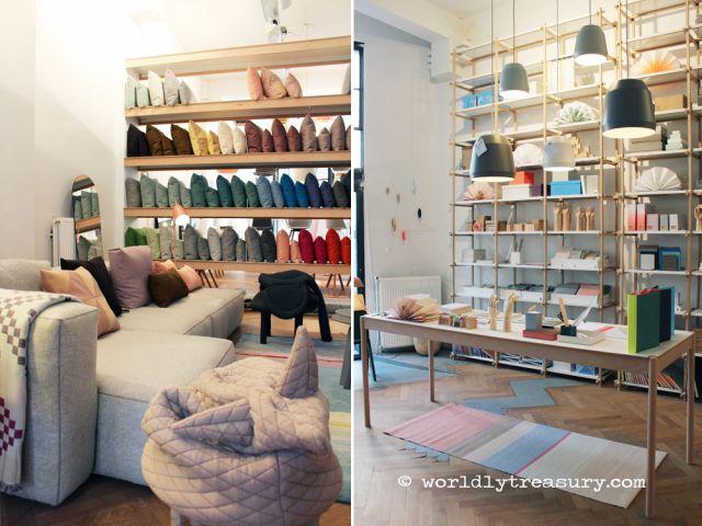 HAY Store Amsterdam Elle Inside Design 2013 http://www.worldlytreasury.com/interior-verslag-inside-design-2013/