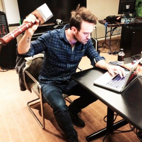 DAREDEVIL IS WORTHY! (Predictably) (But seriously Charlie Cox is too cute for this world)