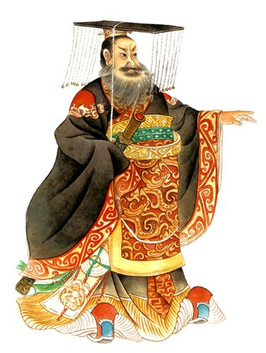 He is the first emperor in the ancient of China, he unified the six countries and the currency of China.