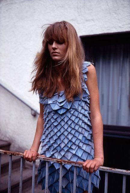 Джинсовое платье (идея для переделки) / Платья Diy / Модный сайт о стильной переделке одежды и интерьера