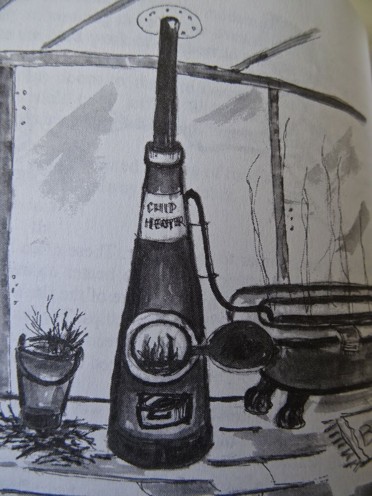 """Chip wood heaters for  hot bath water found in """"Growing up in the 50s and 60s"""" by John (JB) Bridges.  contact jbesperance@hotmail.com"""