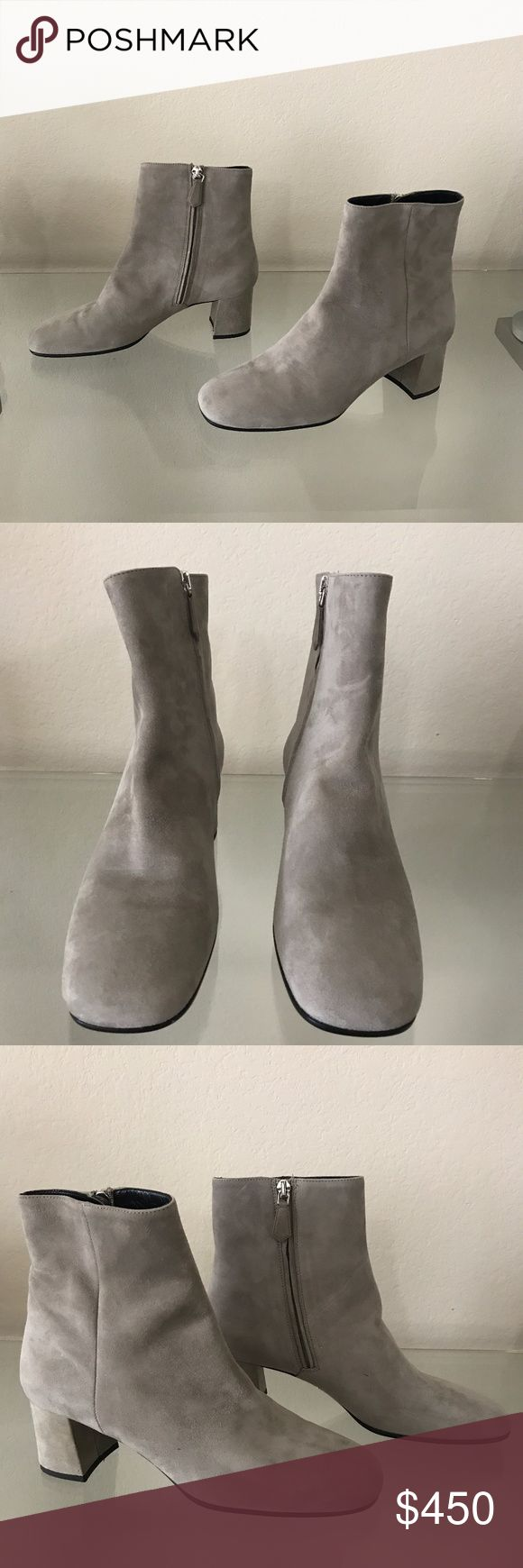 NEW PRADA SUADE ANKLE BOOTS TAUPE COLOR BRAND NEW NEVER BEEN WORN PRADA ANKLE BOOTS, TAUPE COLOR PRADA Shoes Ankle Boots & Booties