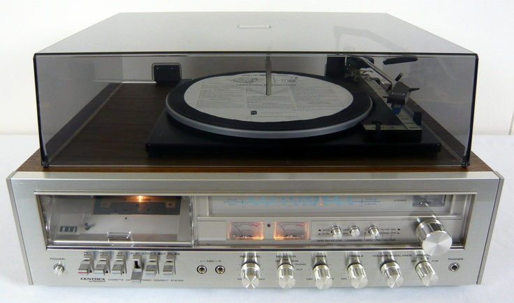 Pioneer Centrex Kh 7766 Am Fm Retro Stereo System Turntable Audio Music