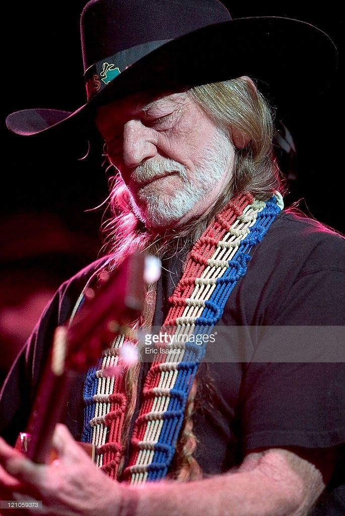Willie Nelson during Willie Nelson in Concert