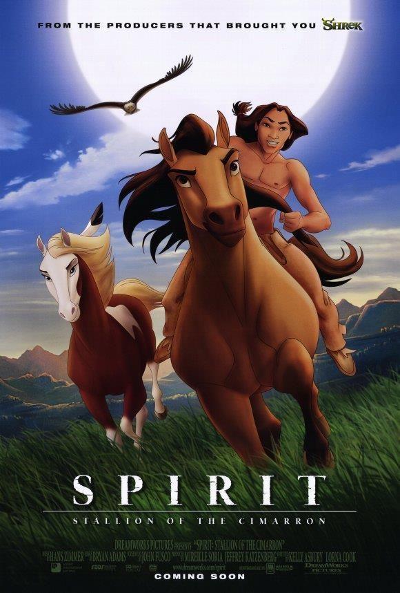 Spirit Stallion Of The Cimarron Movie Poster 11 X 17 Matt Damon