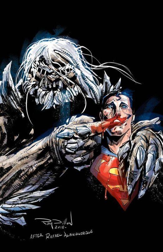 Kinasin Land Doomsday Superman homage to Killing Joke