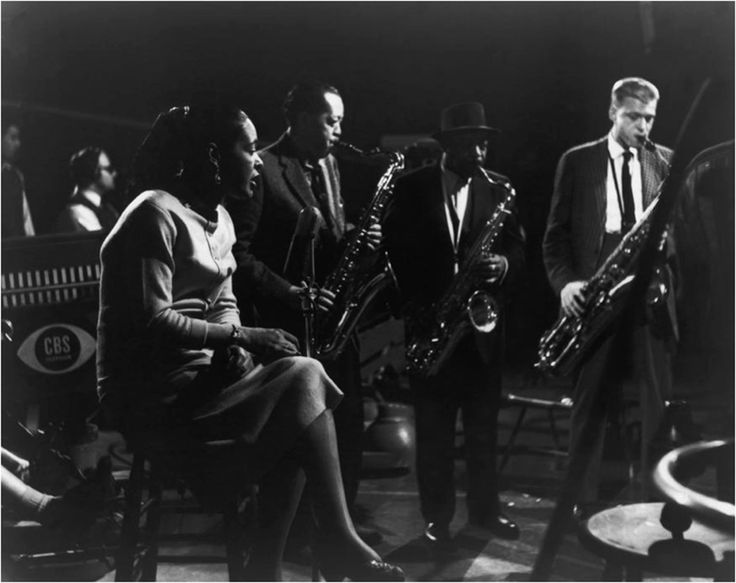 Billie Holiday, Lester Young, Coleman Hawkins, Gerry ...