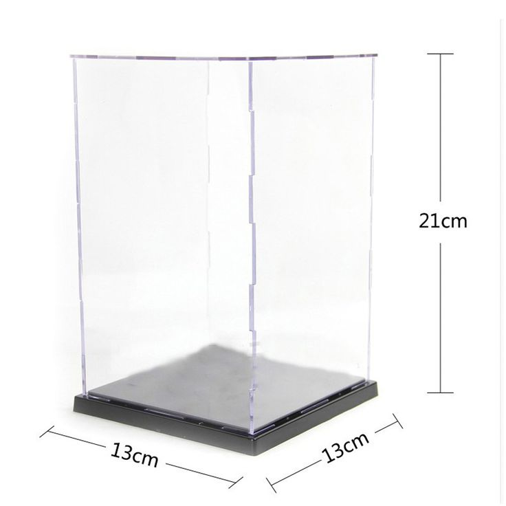 $23.89 (Buy here: https://alitems.com/g/1e8d114494ebda23ff8b16525dc3e8/?i=5&ulp=https%3A%2F%2Fwww.aliexpress.com%2Fitem%2F21-13-13cm-Acrylic-Plastic-Display-Box-Dustproof-Protection-Showcase-Case-Dollhouse-Action-Figure-Toy-gifts%2F32731614365.html ) 21*13*13cm  Acrylic Plastic Display Box  Dustproof Protection Showcase Case Dollhouse Action Figure Toy gifts for just $23.89