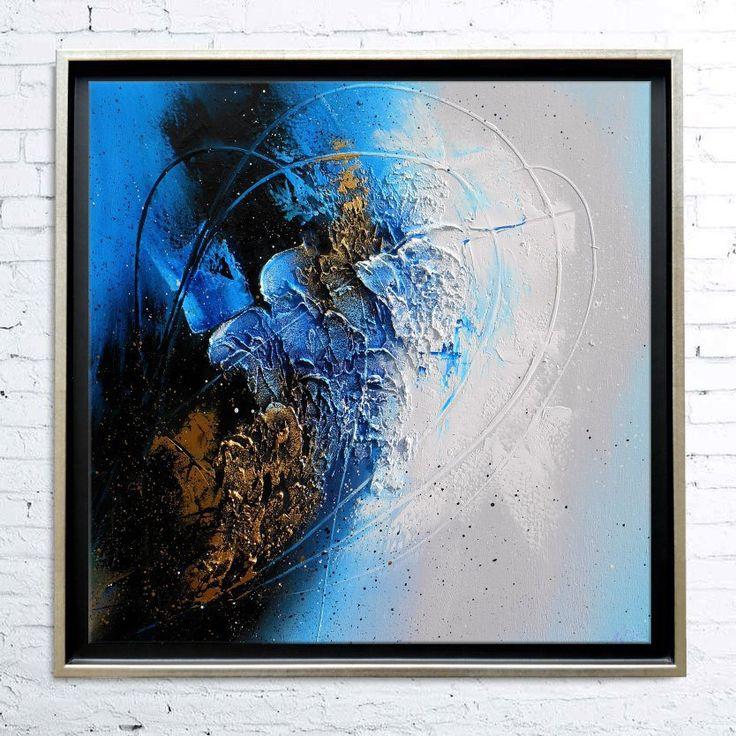 17 meilleures id es propos de peintures l 39 huile abstraites sur pinter - Peinture abstraite huile ...