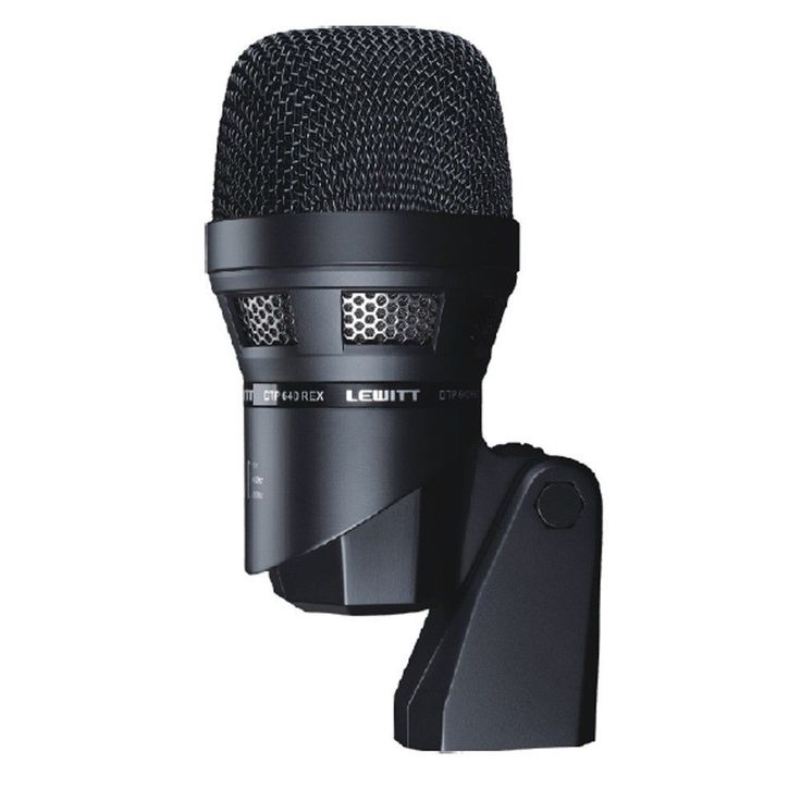 Lewitt Audio DTP 640 REX Dynamic / Condensor Bass Drum Microphone DTP640 NEW