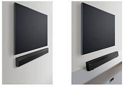 Panasonic SC-HTB70 Speaker Bar Review. f you have an HDTV, it's nice to partner the high-definition picture with quality sound, but not everyone has the space or the budget for a surround-sound system or complete home theater. Enter speaker bars, which are a great option for anyone tight on space or money. The Panasonic SC-HTB70 is an inexpensive option that will deliver better quality sound than an HDTV's standard speakers with a minimalistic design to boot. #hometheateronabudget