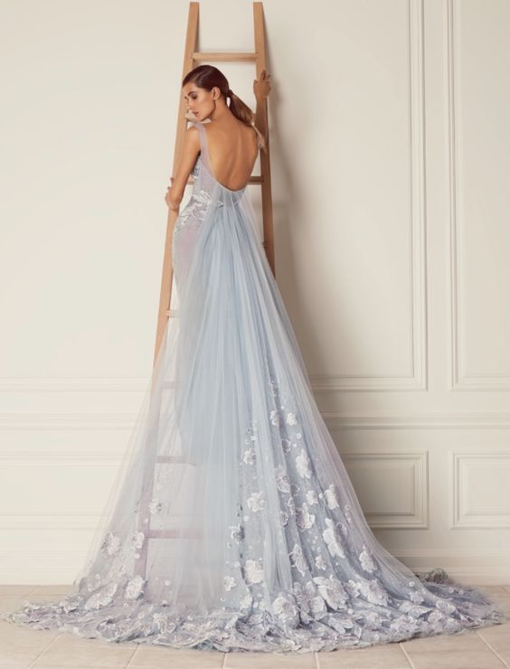 The 25 best Light blue wedding dress ideas on Pinterest Light