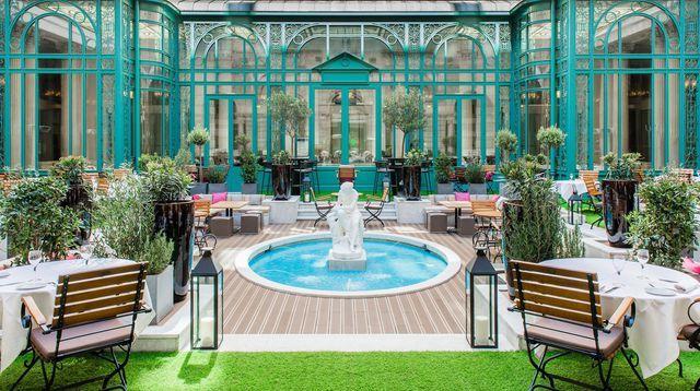 Les 10 meilleures terrasses et jardins d'hôtel de Paris