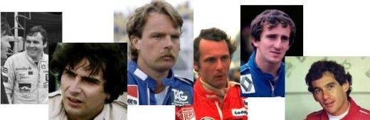 Formula One Champs 1980s