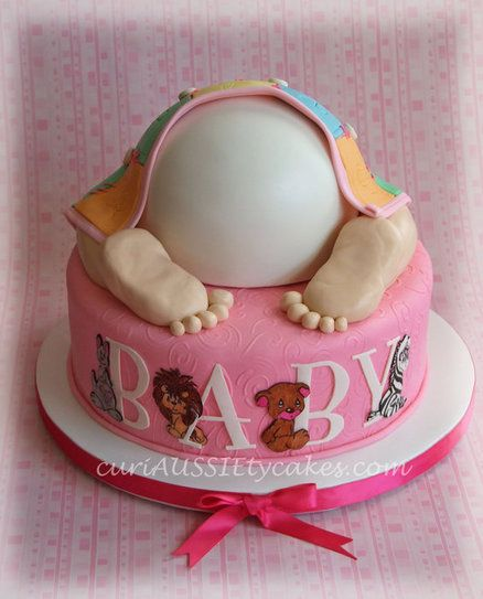 How To Make A Baby Bum Cake Topper